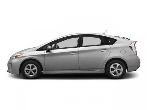 2015 Toyota Prius Two Classic Silver MetallicGray V4 18 L Variable 50 miles FREE CAR WASHES f
