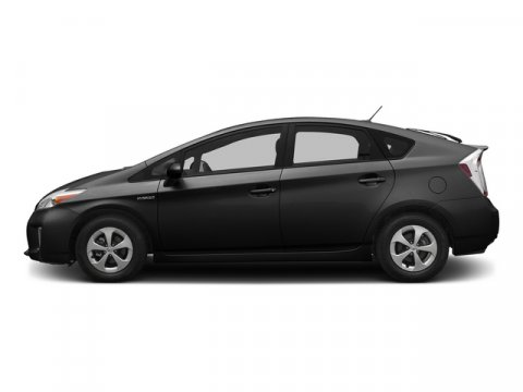 2015 Toyota Prius Two BlackFb10Dark Gray V4 18 L Variable 8 miles  BACK UP MONITOR  CARPET