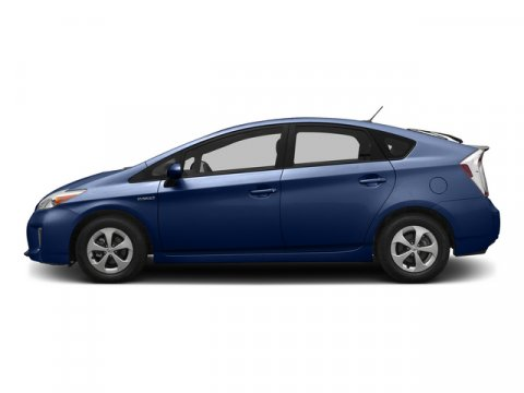 2015 Toyota Prius Two Nautical Blue MetallicFb10Dark Gray V4 18 L Variable 8 miles  BACK UP