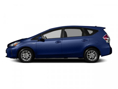 2015 Toyota Prius v Five Blue Ribbon MetallicBLACK V4 18 L Variable 5 miles FREE CAR WASHES f