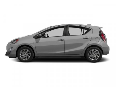 2015 Toyota Prius c Two Classic Silver MetallicDARK BLUEBLACK V4 15 L Variable 5 miles FREE