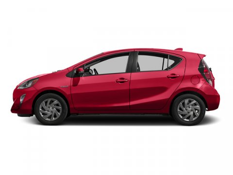 2015 Toyota Prius c Two Absolutely RedGray V4 15 L Variable 5 miles FREE CAR WASHES for Lifet