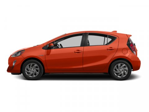 2015 Toyota Prius c Two Tangerine Splash PearlBlack V4 15 L Variable 50 miles FREE CAR WASHES