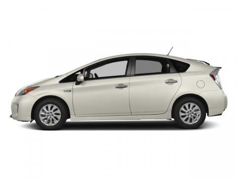 2015 Toyota Prius Plug-In BASE Blizzard PearlDARK GRAY V4 18 L Variable 5 miles FREE CAR WASH
