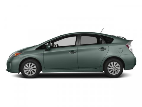 2015 Toyota Prius Plug-In Sea Glass PearlDARK GRAY V4 18 L Variable 50 miles FREE CAR WASHES f