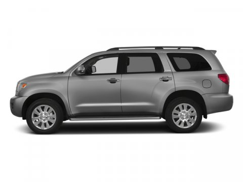 2015 Toyota Sequoia Platinum Silver Sky MetallicGray V8 57 L Automatic 5 miles FREE CAR WASHES