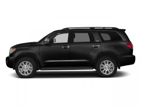 2015 Toyota Sequoia Limited BlackGraphite V8 57 L Automatic 5 miles FREE CAR WASHES for Lifeti