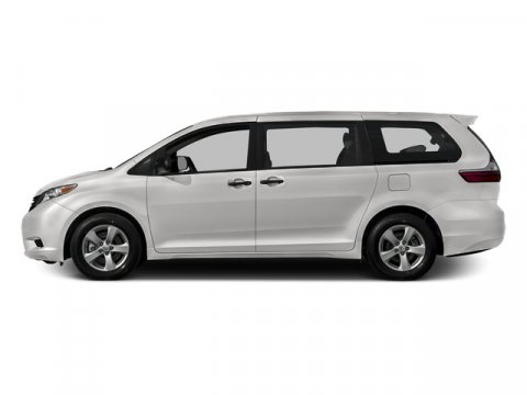 2015 Toyota Sienna LE Super WhiteLIGHT GRAY V6 35 L Automatic 1 miles FREE CAR WASHES for Life
