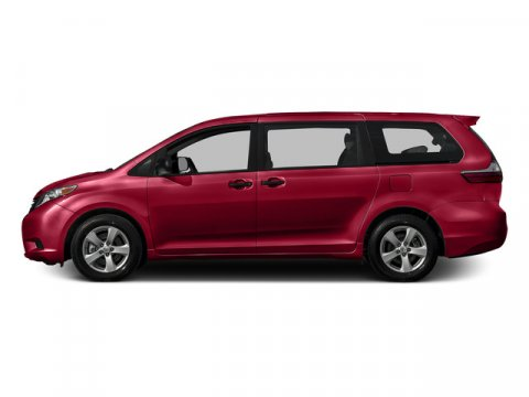 2015 Toyota Sienna XLE Salsa Red PearlBISQUE V6 35 L Automatic 76 miles FREE CAR WASHES for L
