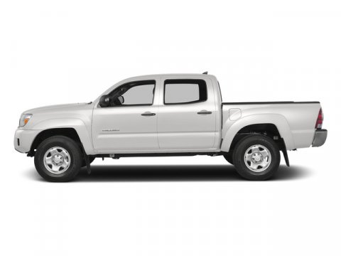 2015 Toyota Tacoma Super WhiteGraphite V6 40 L Manual 5 miles FREE CAR WASHES for Lifetime of