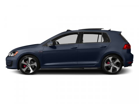 2015 Volkswagen GTI SE Night Blue MetallicTitanium Black V4 20 L Automatic 0 miles  Turbocharg
