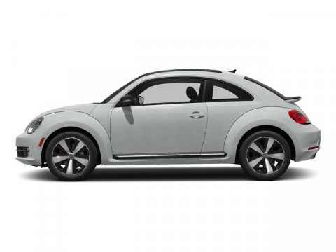 2015 Volkswagen Beetle Coupe 18T Classic Pure WhiteBeige Brown V4 18 L Automatic 0 miles  Tur