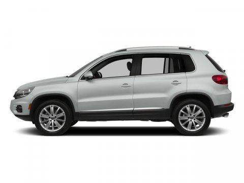 2015 Volkswagen Tiguan SE Pure WhiteBeige V4 20 L Automatic 0 miles  Turbocharged  Front Whee