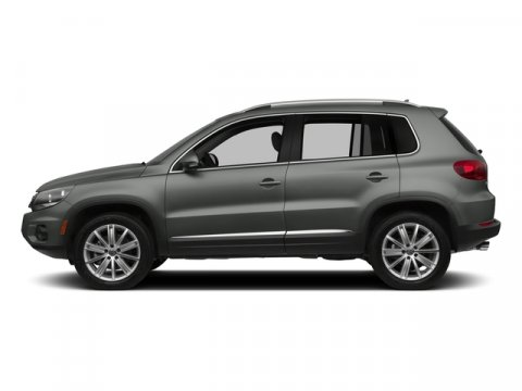 2015 Volkswagen Tiguan S Pepper Gray MetallicBlack V4 20 L Automatic 0 miles  Turbocharged  F