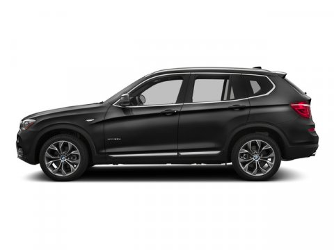 2016 BMW X3 xDrive28i Jet BlackBlack V4 20 L Automatic 7 miles  BLACK SENSATEC LEATHERETTE UP