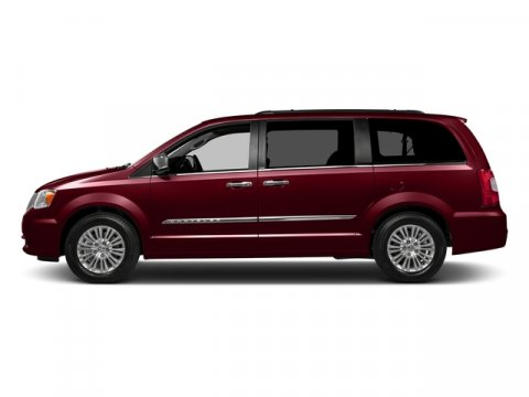 2016 Chrysler Town  Country Limited Deep Cherry Red Crystal PearlcoatLEATHER TRIMMED V6 36 L A