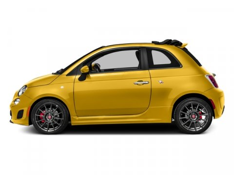2016 FIAT 500c Abarth Giallo Moderna Perla Pearl Yellow TCPERF CLOTH V4 14 L Automatic 10 mi