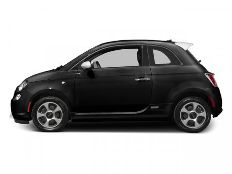 2016 FIAT 500e L Nero Puro Straight BlackLEATHERETTE V 00 Automatic 10 miles Because Fiat l