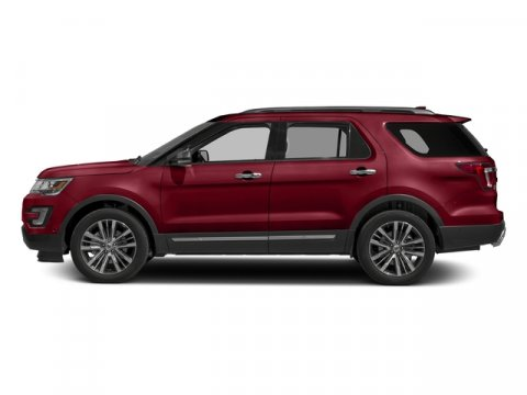 2016 Ford Explorer XLT Ruby Red Metallic Tinted Clearcoat V6 35 L Automatic 4 miles Price doe