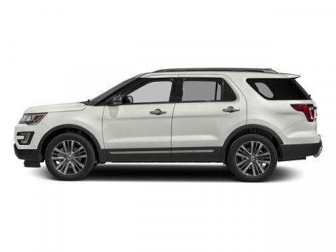 2016 Ford Explorer XLT White Platinum Metallic Tri-Coat V6 35 L Automatic 203 miles Class III