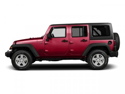 2016 Jeep Wrangler Unlimited Sahara Firecracker Red ClearcoatBlack V6 36 L Manual 0 miles  CO