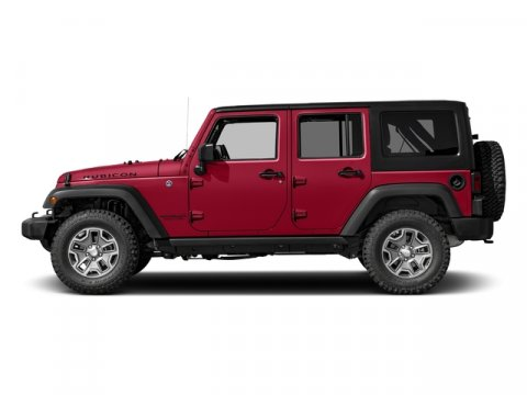 2016 Jeep Wrangler Unlimited Rubicon Hard Rock Firecracker Red ClearcoatBlack V6 36 L Automatic