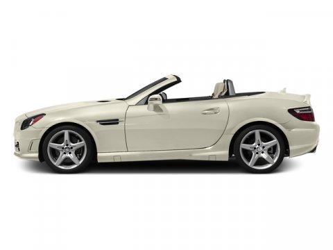 2016 Mercedes SLK300 Designo Diamond White Metallic2 Tn Brwn Blk L V4 20 L Automatic 11 miles