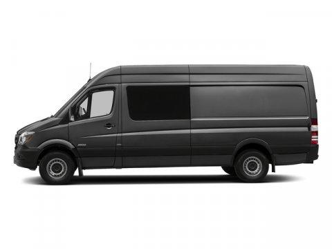 2016 Mercedes Sprinter Crew Van RWD 2500 170 Tenorite Gray MetallicLeatherette Bla V6 30 L Auto