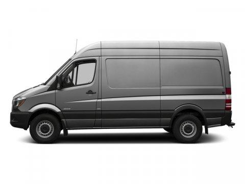 2016 Mercedes Sprinter Cargo Van RWD 2500 144 Brilliant Silver MetallicTunja Black V4 21 L Auto