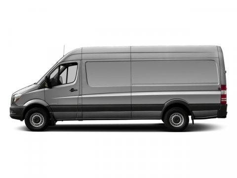2016 Mercedes Sprinter Cargo Van RWD 2500 170 Brilliant Silver MetallicLeatherette Bla V4 21 L