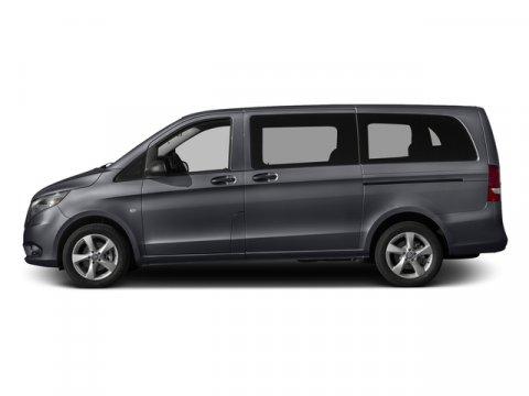 2016 Mercedes Metris Passenger Van Flint Gray MetallicBlack Leatherette V4 20 L Automatic 5 mi