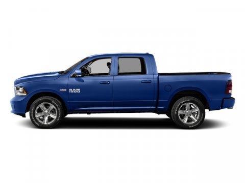 2016 Ram 1500 Blue Streak Pearlcoat V8 57 L Automatic 1 miles  Transmission 8-Speed Automati