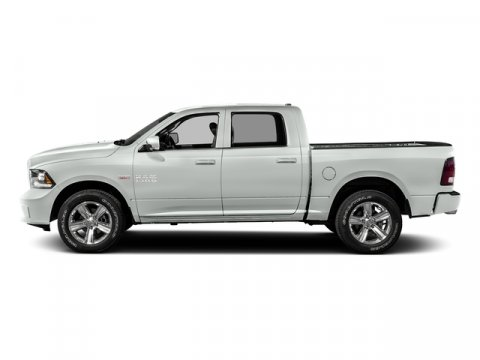 2016 Ram 1500 Bright White Clearcoat V6  Automatic 1 miles GVWR 6950 Transmission 8-Speed Au