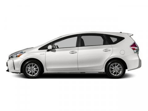 2016 Toyota Prius v Three  ASK ABOUT OUR 10 POINT VA Super WhiteDARK CHARCOALO V4 18 L Variabl