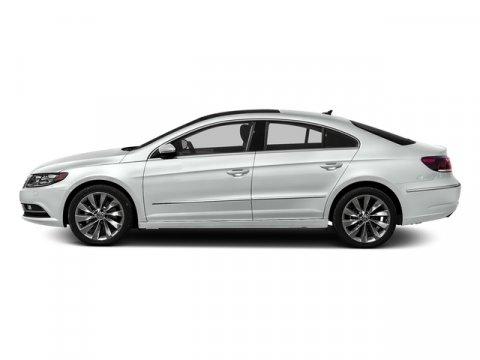 2016 Volkswagen CC RLINE Pure WhiteBlack V4 20 L Manual 24 miles  CHROME EXHAUST TIPS  RUBBE
