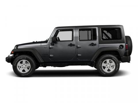 2017 Jeep Wrangler Unlimited Sport Granite Crystal Metallic ClearcoatBlack V6 36 L Automatic 0