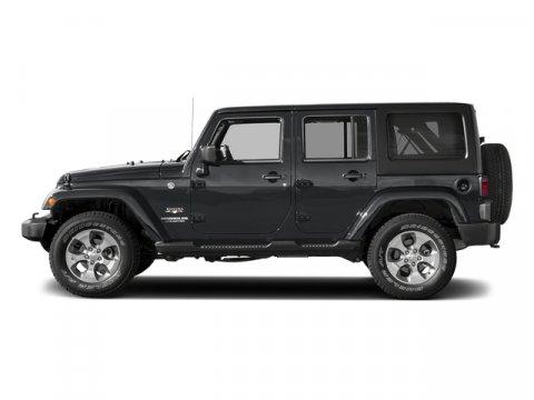 2017 Jeep Wrangler Unlimited Sahara Granite Crystal Metallic ClearcoatBlack V6 36 L Automatic