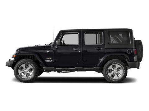 2017 Jeep Wrangler Unlimited Sahara Black ClearcoatBlack V6 36 L Automatic 0 miles BODY COLOR