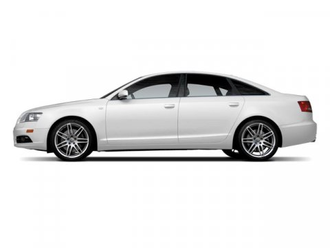 2008 Audi A6 Ibis White V6 32L Variable 85111 miles  Traction Control  Stability Control  B