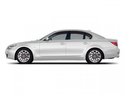 2008 BMW 5 Series 528i Alpine White V6 30L  96182 miles  Traction Control  Stability Control