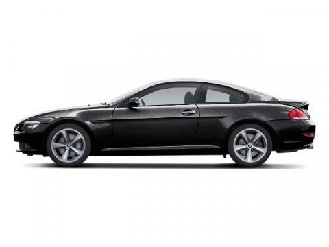 2008 BMW 6 Series 650i Jet Black V8 48L Automatic 37680 miles  Traction Control  Stability C