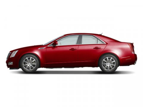 2008 Cadillac CTS RWD w1SB Crystal Red TintcoatBlack V6 36L Automatic 88927 miles Red and Re