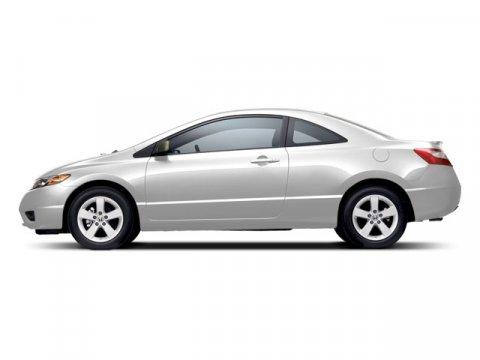 2008 Honda Civic Cpe EX-L Taffeta White V4 18L Automatic 67227 miles  Front Wheel Drive  Tir
