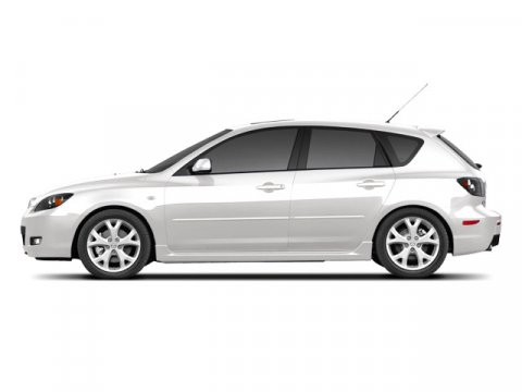 2008 Mazda Mazda3 C Crystal White Pearl MicaGray V4 23L Automatic 84144 miles  Front Wheel Dr