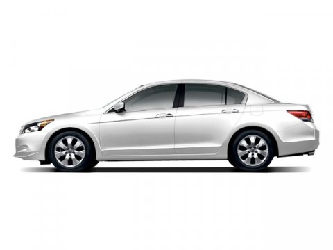 2009 Honda Accord Sdn EX-L White Diamond Pearl V6 35L Automatic 93313 miles  Front Wheel Driv