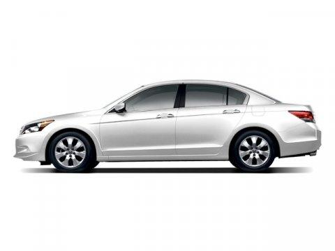 2009 Honda Accord Sdn EX-L White Diamond Pearl V6 35L Automatic 93313 miles  Front Wheel Driv