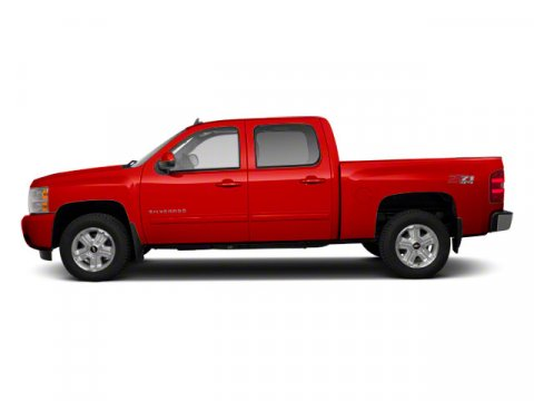 2011 Chevrolet Silverado 1500 LT Victory Red V8 53L Automatic 96376 miles  Four Wheel Drive