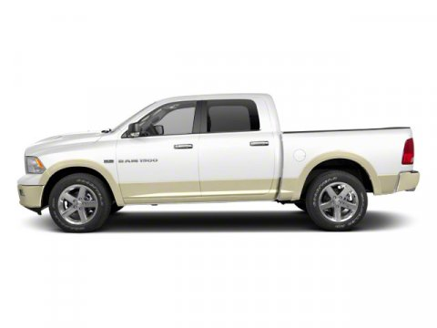 2011 Ram 1500 Laramie Bright WhiteLight Pebble BeigeBark Brown V8 57L Automatic 166835 miles