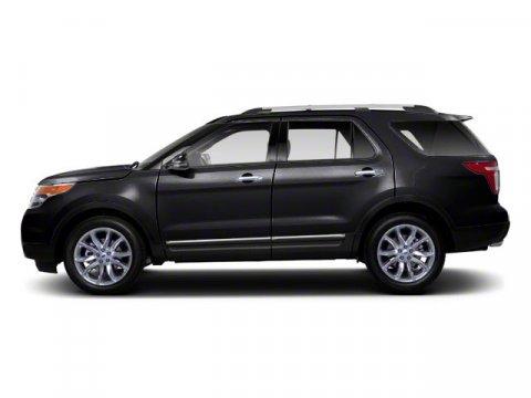 2011 Ford Explorer XLT Black V6 35L Automatic 66580 miles  Four Wheel Drive  Tow Hooks  Pow