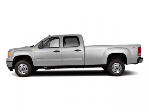 2011 GMC Sierra 2500HD SLT Pure Silver Metallic V8  Automatic 107198 miles  Tow Hitch  Lockin